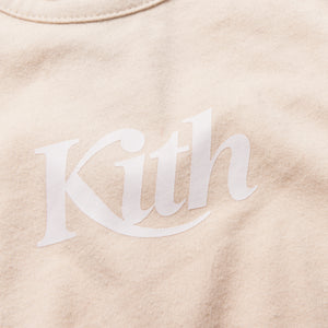 Kith Kids Toddler Swash Logo Onesie - Turtle Dove