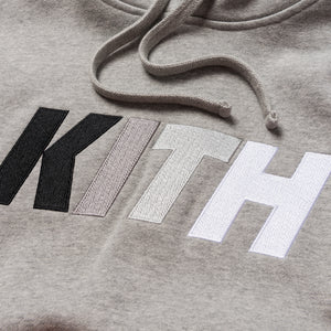 Kith Team Williams Hoodie - Heather Grey