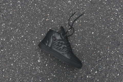Filling Pieces Mid Top Transformed ACP Woven - Black