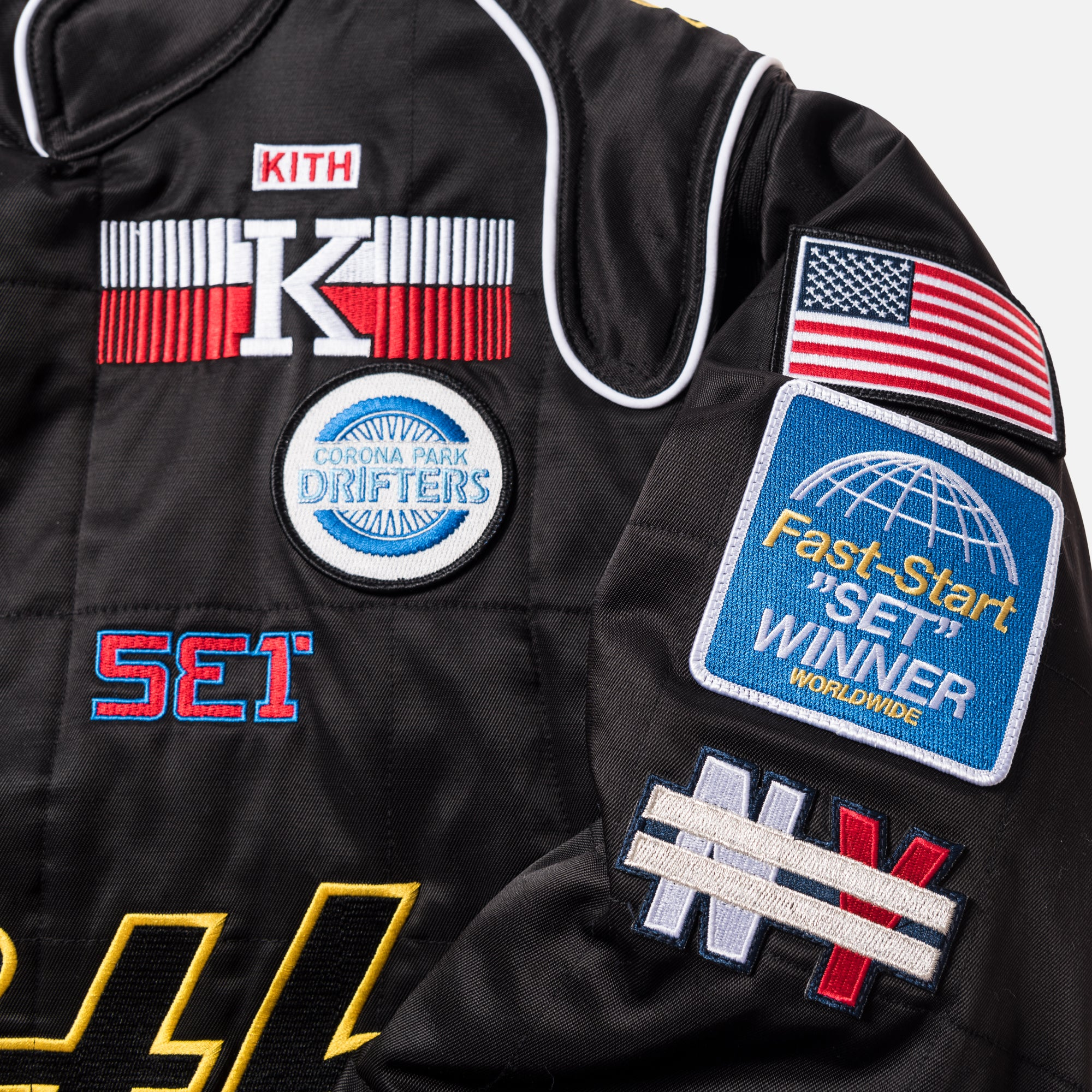 Kith Racing Jacket - Black