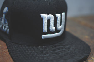 JUST DON Super Bowl New York Giants Logo - Black