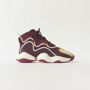 Adidas x Eric Emanuel BYW - Maroon / Yellow Image 1