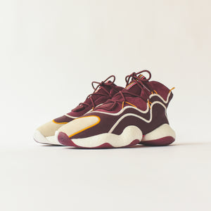 Adidas x Eric Emanuel BYW - Maroon / Yellow Image 3