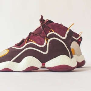 Adidas x Eric Emanuel BYW - Maroon / Yellow Image 4