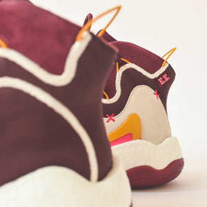 Adidas x Eric Emanuel BYW - Maroon / Yellow Image 5