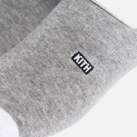 Kith Classics x Stance Super Invisible Sock - Grey / White Thumbnail 2