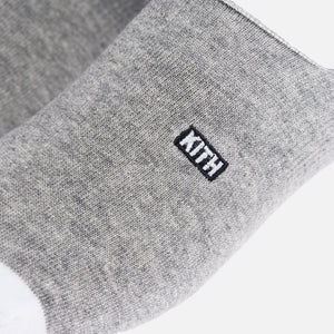 Kith Classics x Stance Super Invisible Sock - Grey / White Image 2