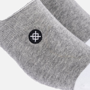 Kith Classics x Stance Super Invisible Sock - Grey / White Image 3