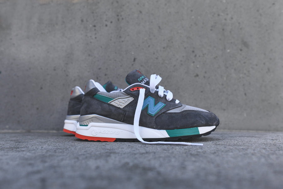 New Balance M998 - Grey / Green