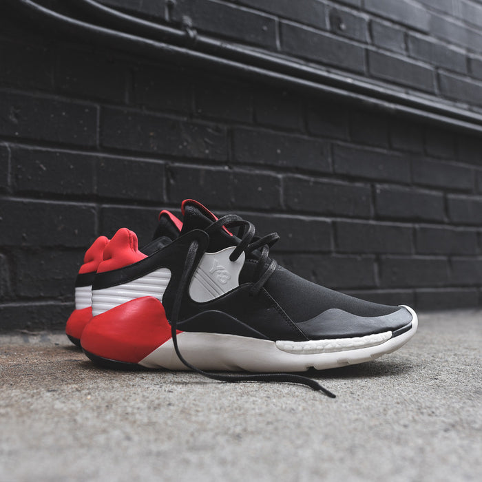 Y-3 Boost QR - Black / Roundel Red