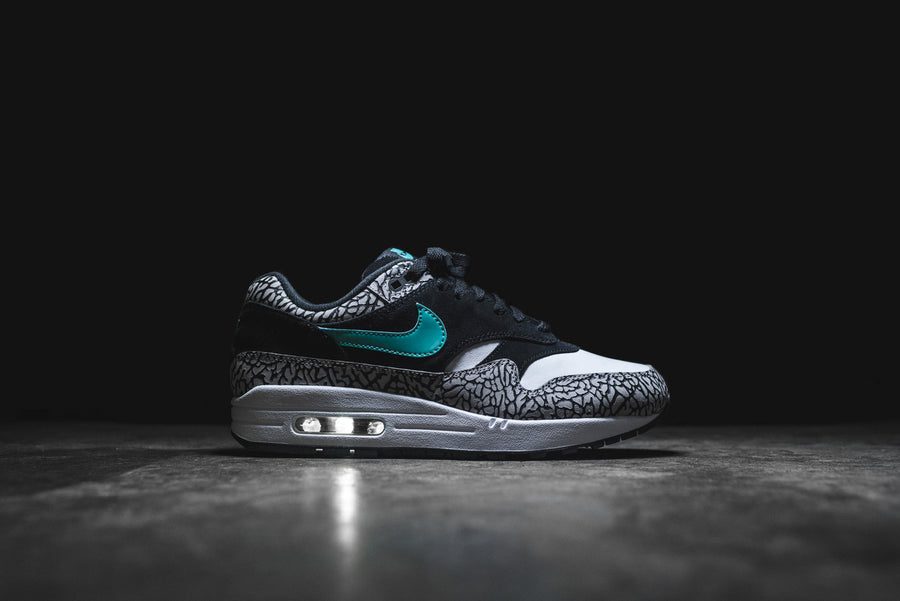 Nike x Atmos Air Max 1 PRM Retro - Grey / Black / White