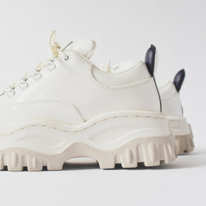 Eytys Angel Patent Leather Sneaker - White