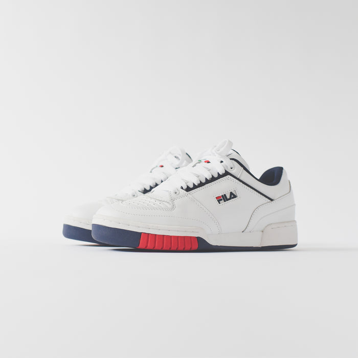 Fila Targa - White / Navy / Red