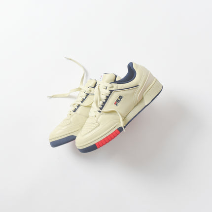 Fila Targa - Cream / Navy / Red
