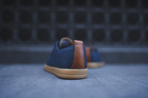 Clae Ellington Textile - Deep Navy