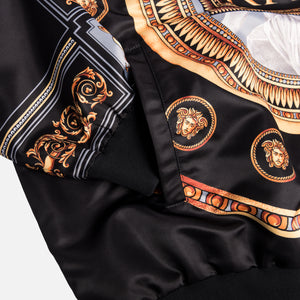 Kith x Versace Quarter Zip Pullover - Black / Gold