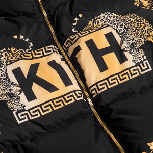 Kith x Versace Reversible Down Jacket - Black / Gold