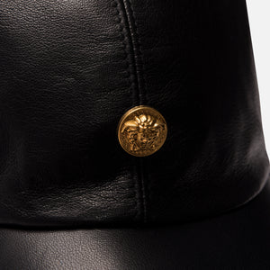 Kith x Versace Leather Cap - Black