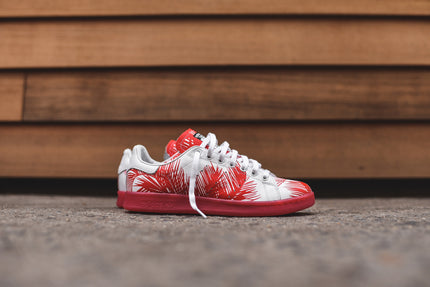 adidas Originals x BBC Stan Smith Palm Tree Pack - Red