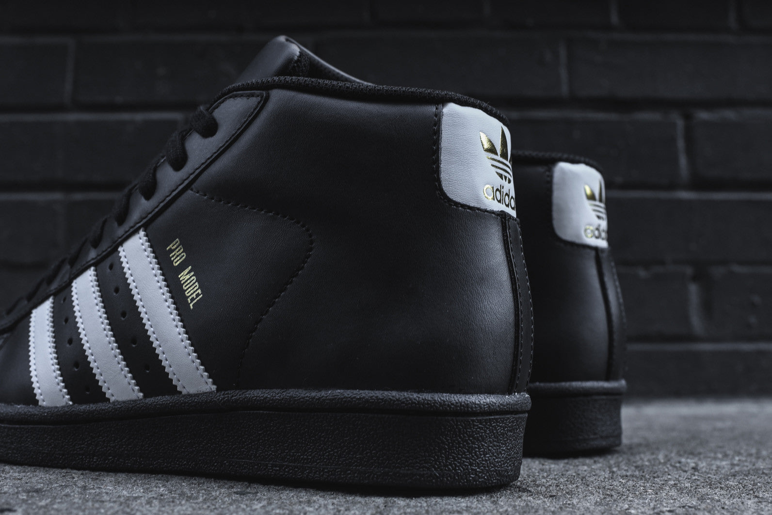 adidas Originals Pro Model Black White