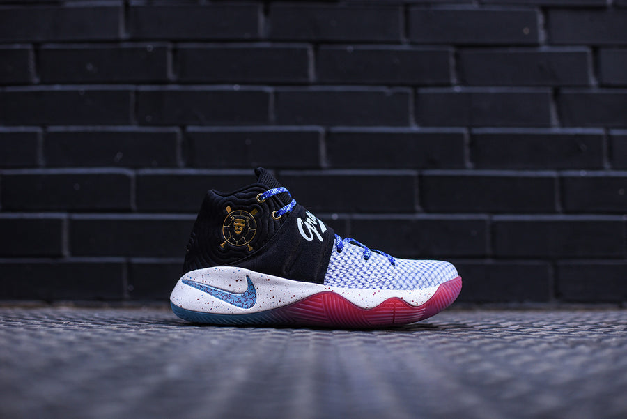 Nike GS Kyrie 2 Doernbecher - Black / Omega Blue / Metallic Gold / White