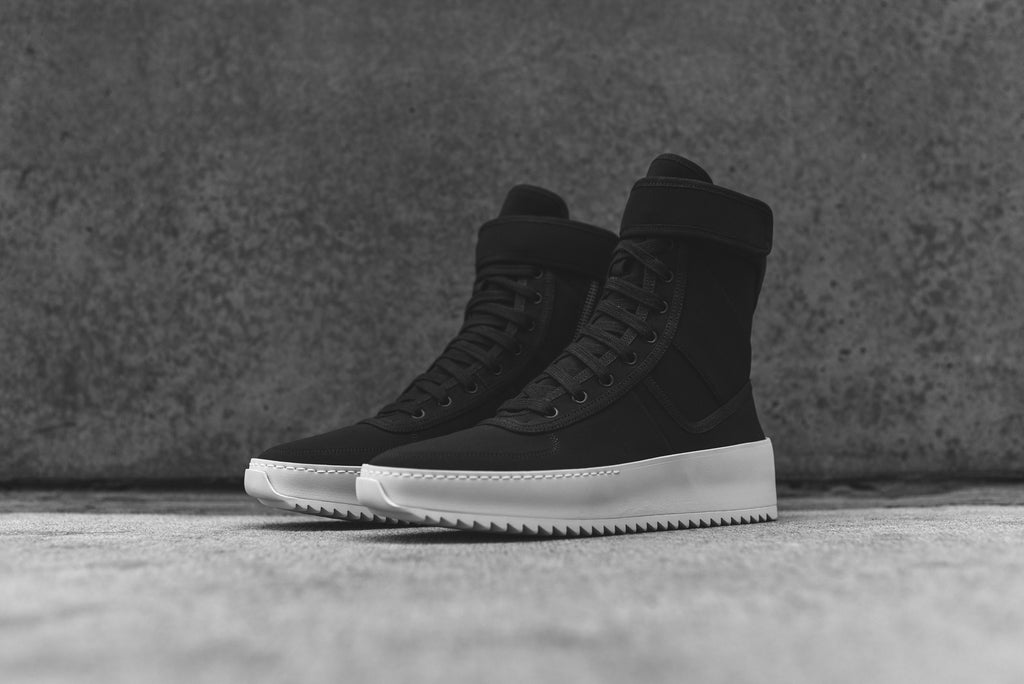 fear of god military boots black