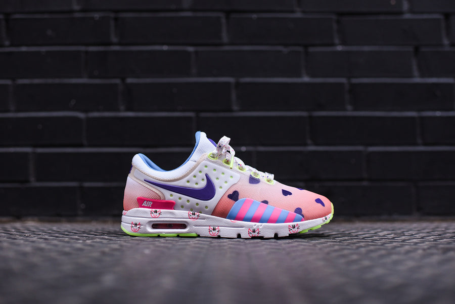 Nike WMNS Air Max Zero Doernbecher - Barely Orange / Hyper Grape / Sunset Glow