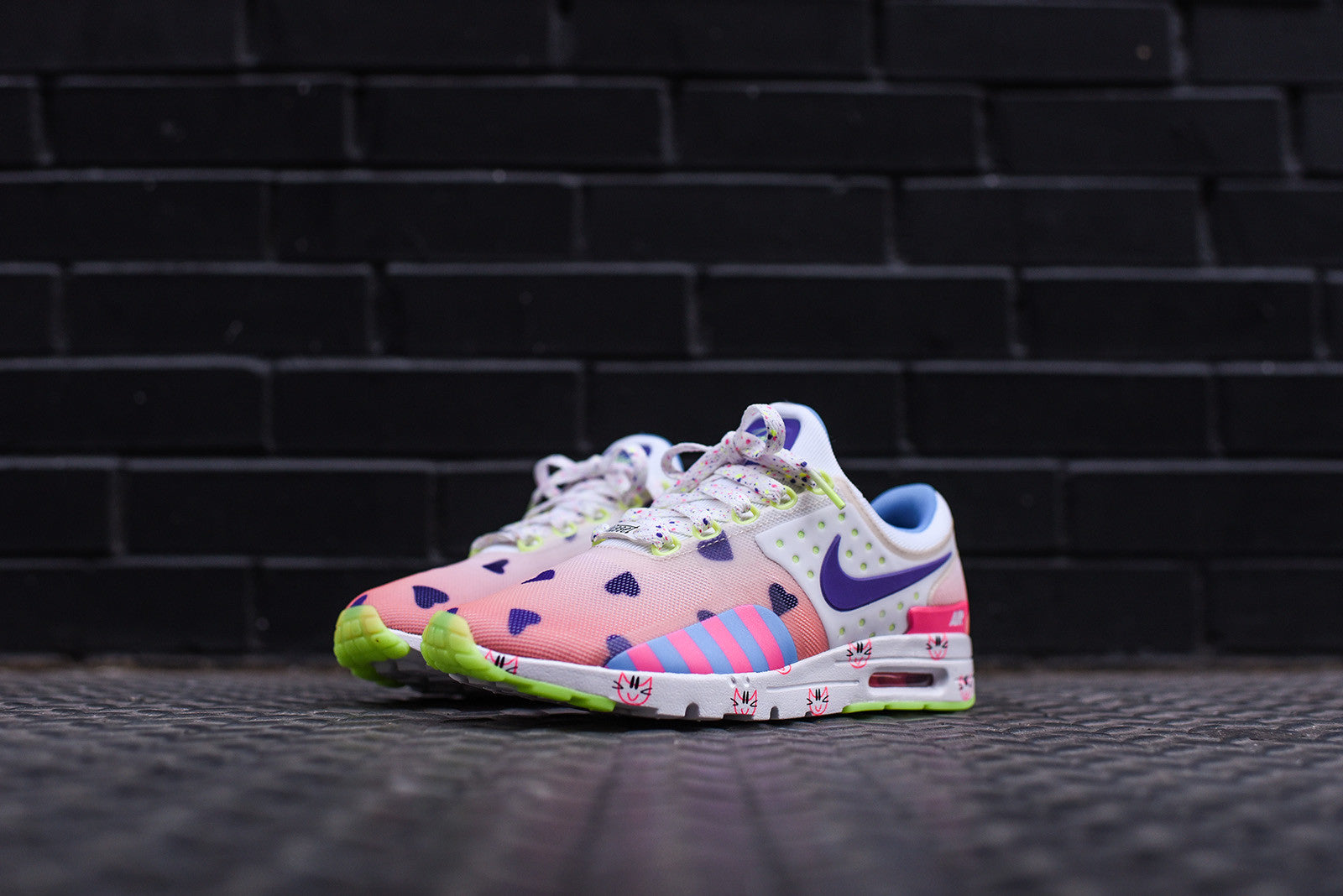 Nike GS Air Max Zero Doernbecher - Barely Orange / Hyper Grape / Sunset Glow