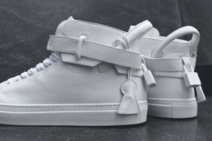 Buscemi 100MM Tonal - Triple White