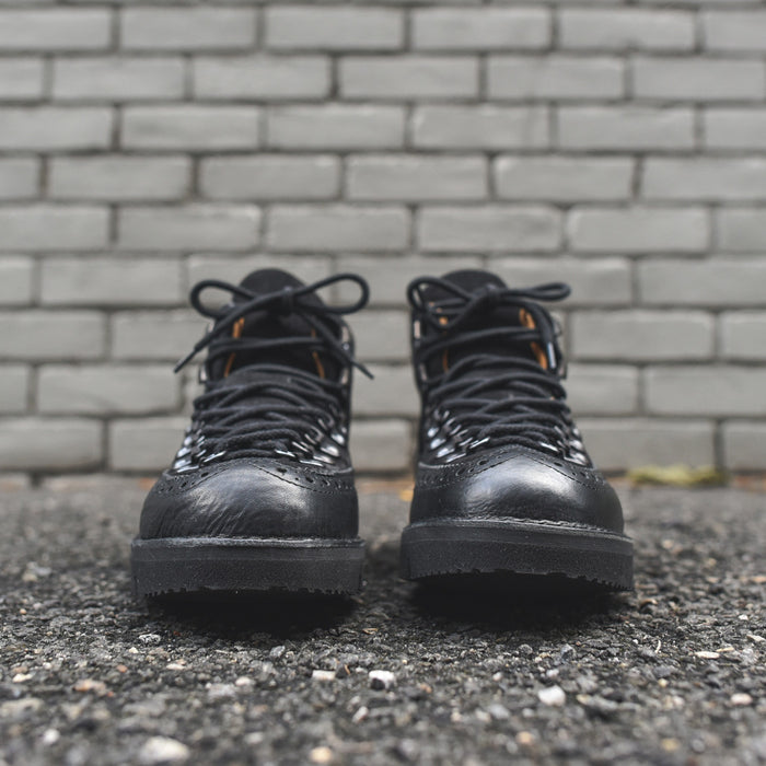 Fracap Brogue Boot - Black