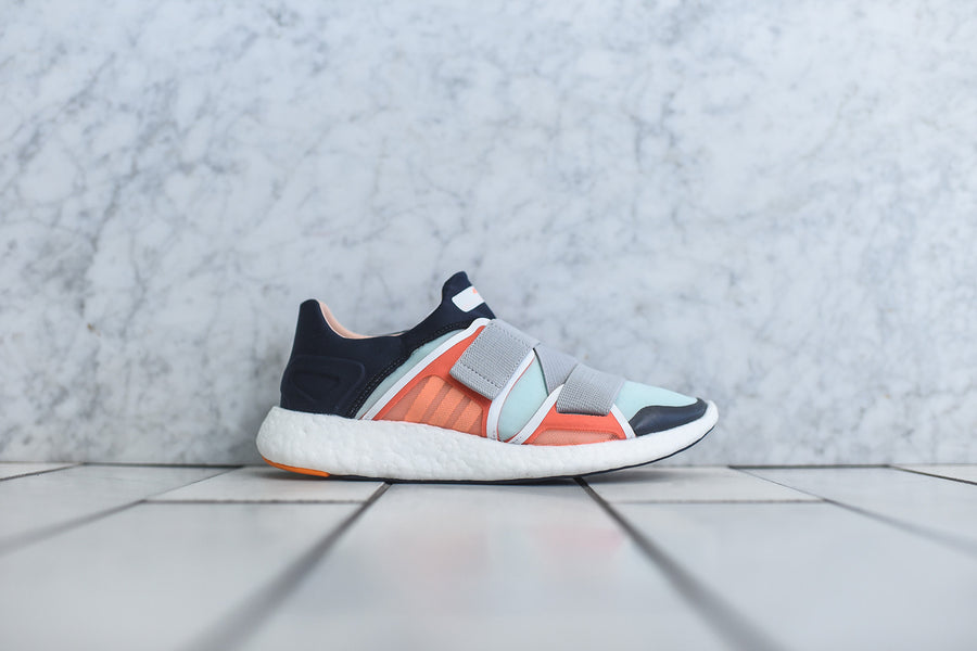 adidas by Stella McCartney WMNS PureBoost Strap - Orange / Navy / Mint