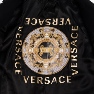Kith x Versace Camel Hair Topcoat - Black