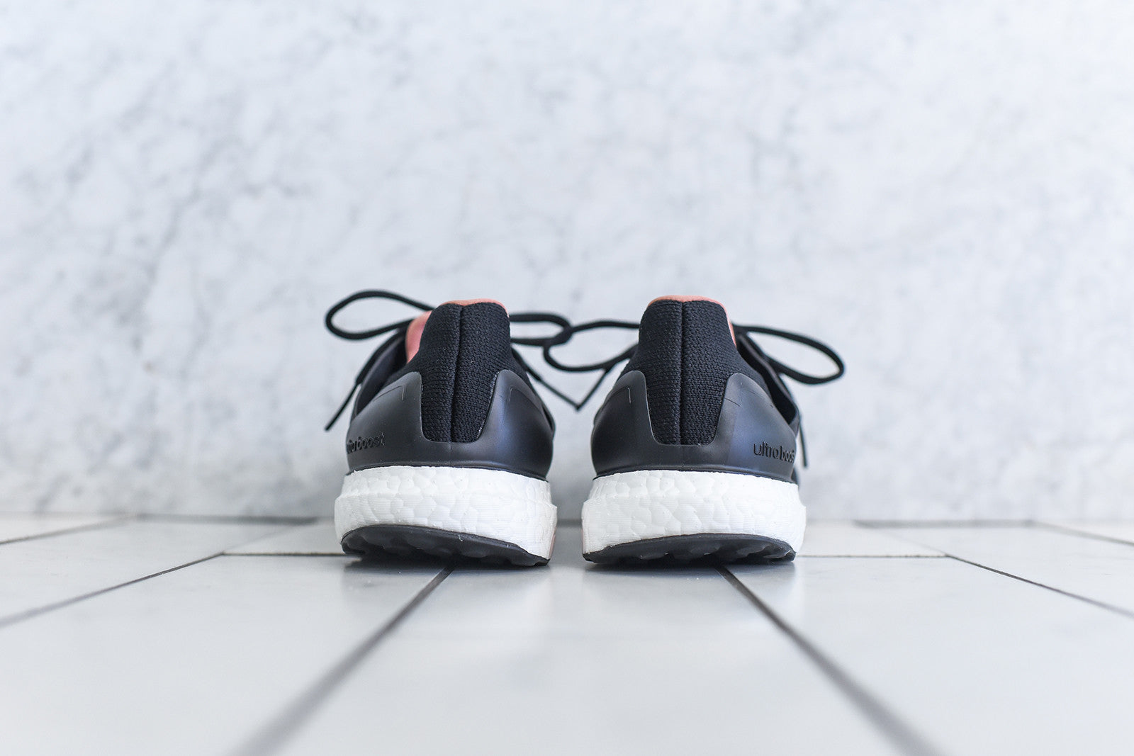 adidas by Stella McCartney WMNS Ultra Boost - Black / White / Salmon