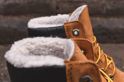 "Timberland WMNS 6"" Fleece Construct - Wheat"
