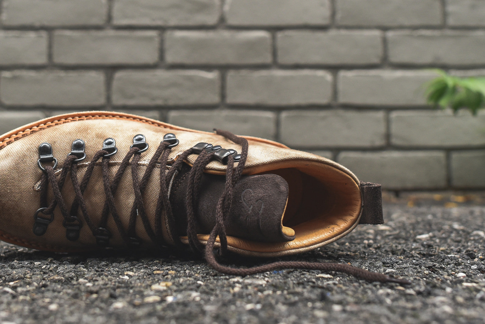 Fracap Hiker Boot - Burnished Brown