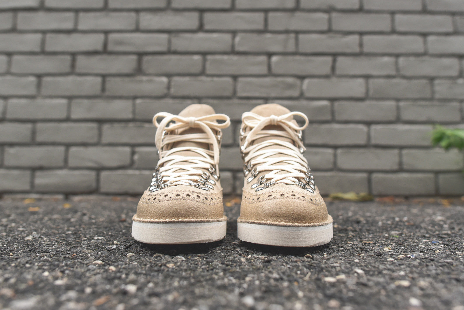 Fracap Brogue Boot - Beige