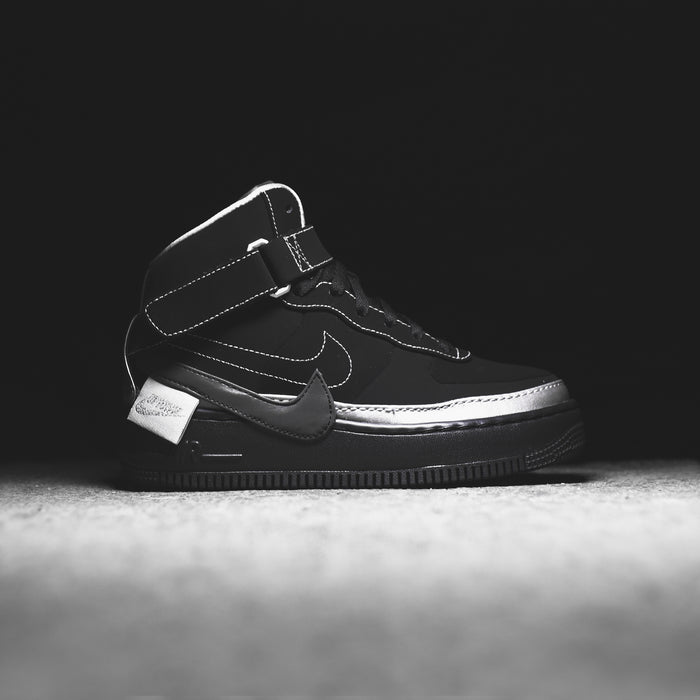 Nike x Rox Brown WMNS Air Force 1 Jester High XX - Black / Metallic Silver