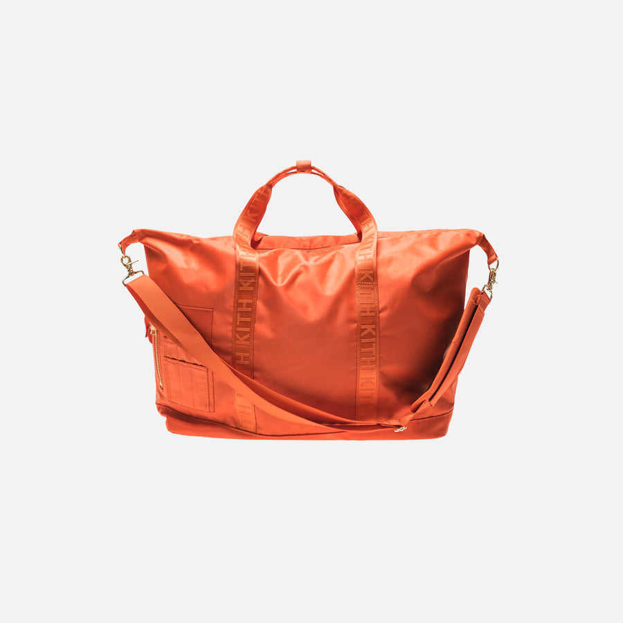 Kith Astor Weekender Bag - Orange
