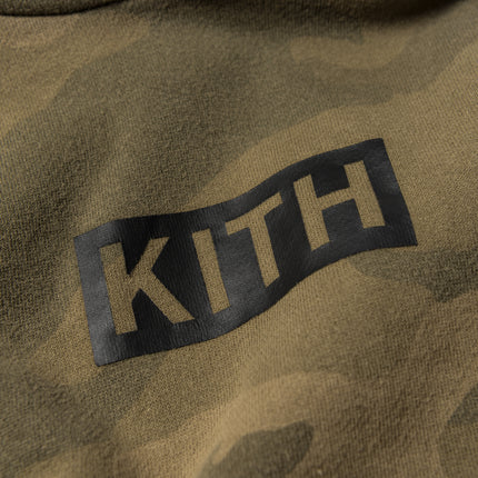 Kith Kids Classic Logo Williams Hoodie - Woodland Camo