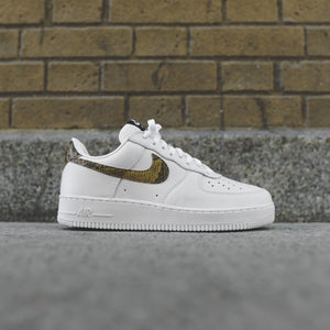 Nike Air Force 1 Low Retro PRM - White / Elemental Gold / Dark Haze