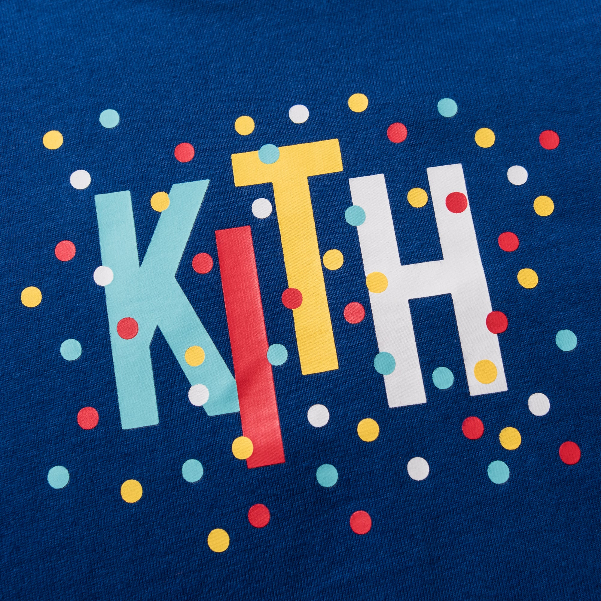 Kith Kids Polka Tee - Royal