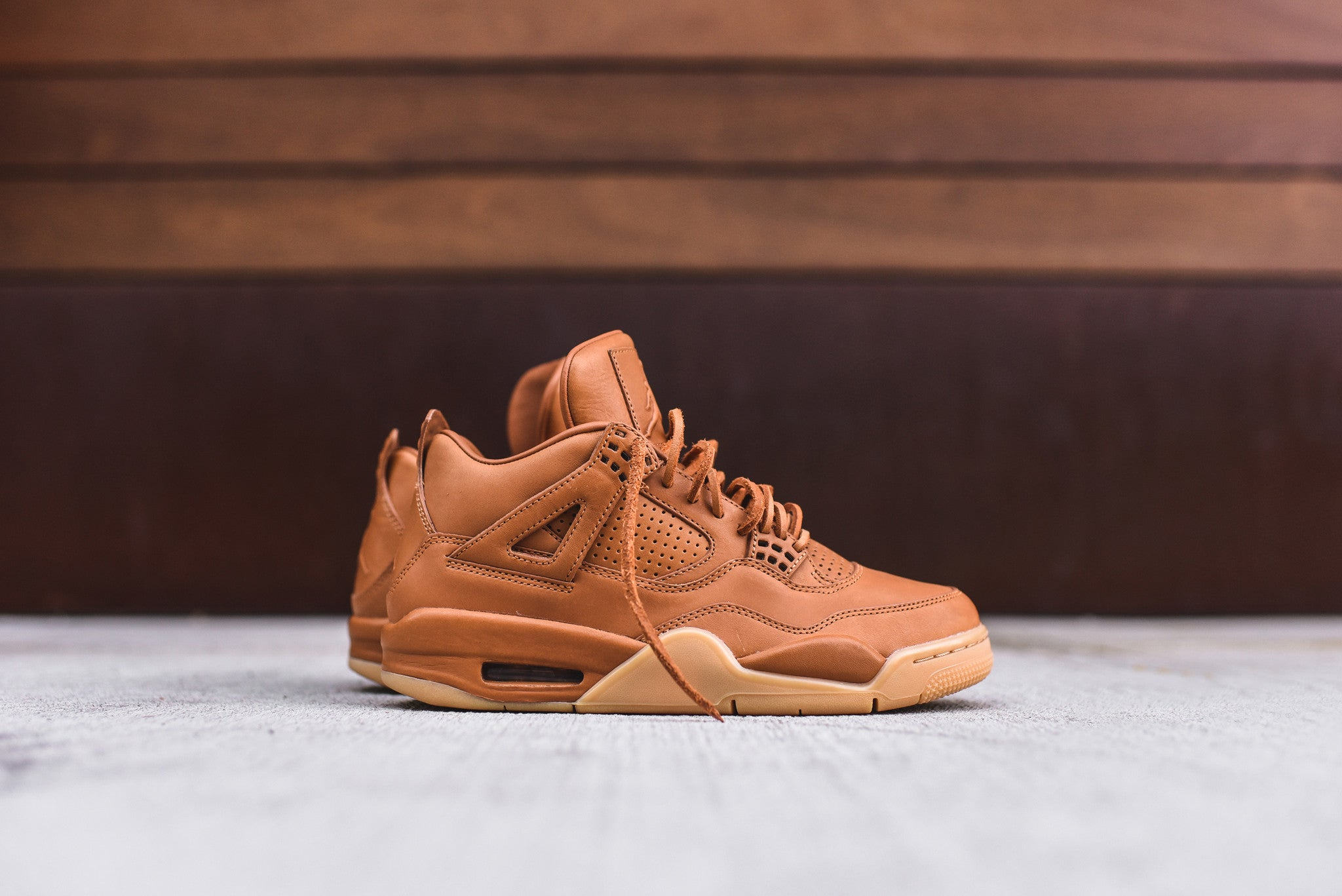 Nike Air Jordan 4 Retro PRM - Ginger