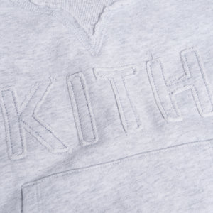 Kith Kids Cameron Crewneck - Heather Grey