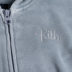 Kith Kids Franklin Full-Zip - Light Indigo