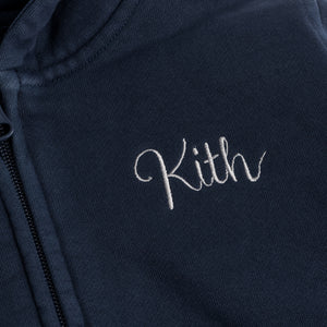 Kith Kids Franklin Full-Zip - Dark Indigo