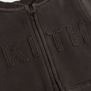Kith Kids Toddlers Crew Coverall - Black Olive