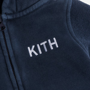 Kith Kids Toddlers Blocked Williams Coverall - Navy