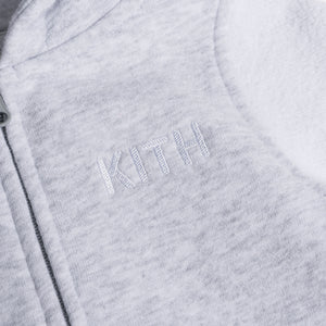 Kith Kids Toddlers Blocked Williams Coverall - Heather Grey