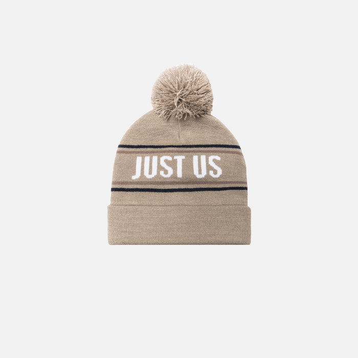 Kith Kids Just Us Beanie - Sand