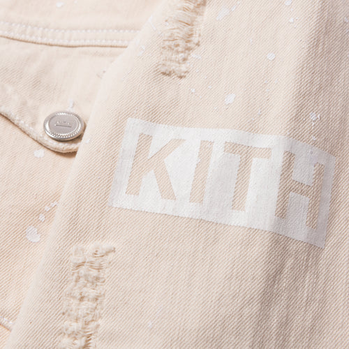 Kith Laight Denim Jacket - Ivory